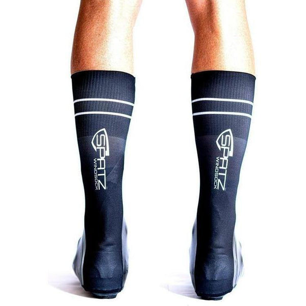 Spatz Windsock Black Shoe Covers-S-Clothing-bikeZaar