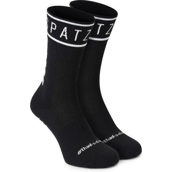 Spatzwear 'SOKZ' Long-Cut Socks - Black