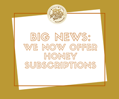 Honey Subscriptions are Here: FAQ and More | Bee Friends Farm