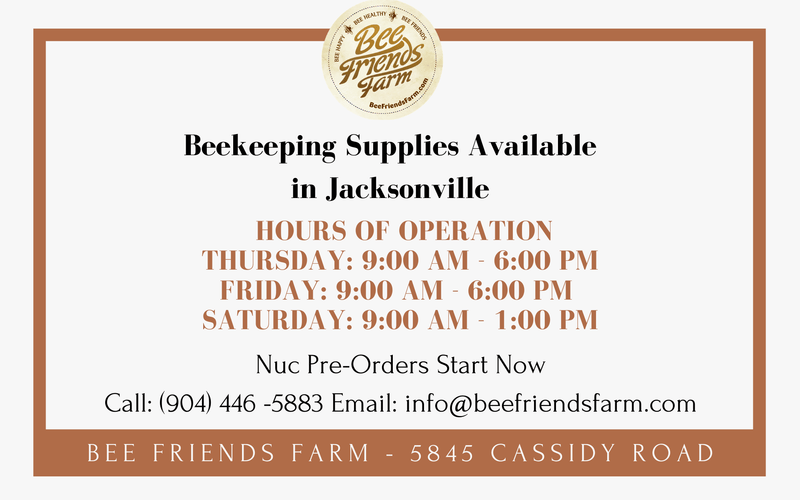 Yes! We sell beekeeping equipment and live bees! | Bee Friends Farm