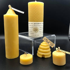 Beeswax Candles | Bee Friends Farm