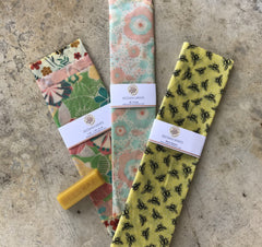 Beeswax Wraps - Replaces Plastic Food Coverings! - Bee Friends Farm