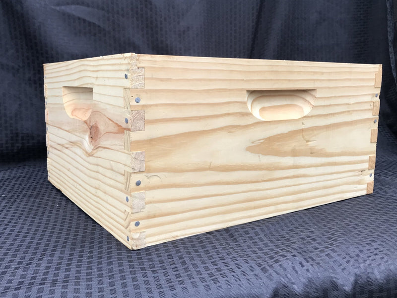 "Deep Box 10 Frame - 9 5/8"" Hive Body (Box Only) - Bee Friends Farm"