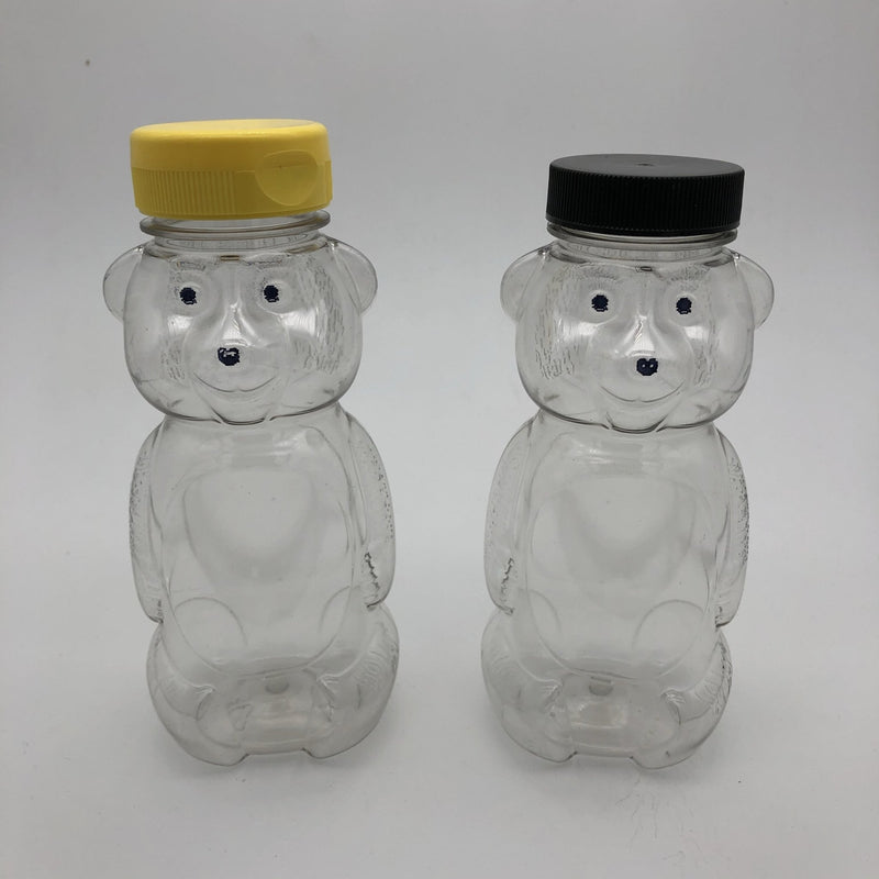 Plastic Honey Bears Bottles (Multiple Sizes) - Bee Friends Farm