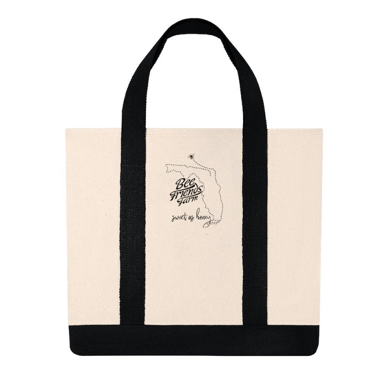 Sweet as Florida Honey Shopping Tote - Bee Friends Farm