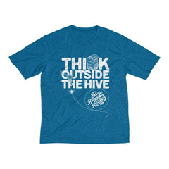 Think Outside the Hive - Dri-Fit Tee - Bee Friends Farm