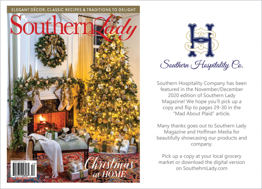 Southern Lady Magazine November/December 2020 Feature