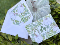 Autumn Collection Fold-Over Stationery
