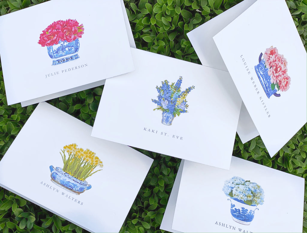Botanical Collection Foldover Stationery