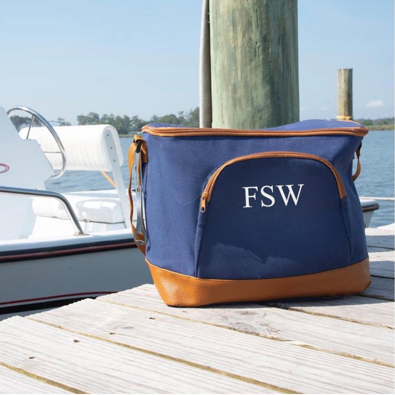 Navy Mens Cooler Bag