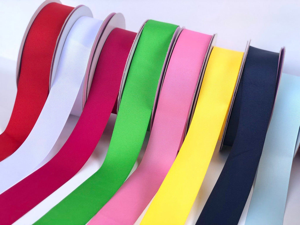 "50 Yards of 1.5"" Solid Grosgrain Ribbon"