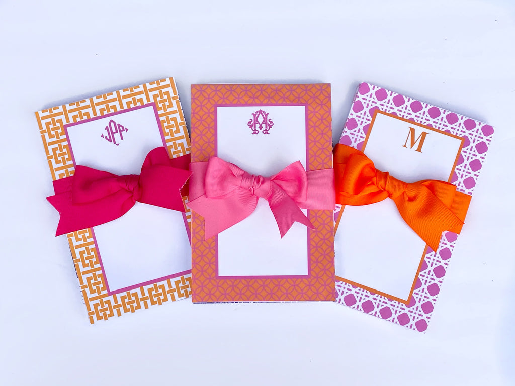 Orange & Pink Notepads