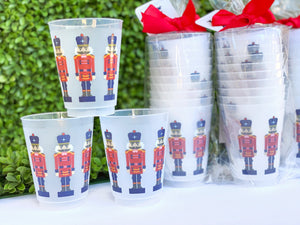 Nutcracker Frosted Cups, Set of 10