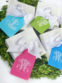 Ornate Script Gift Tags, Set of 20