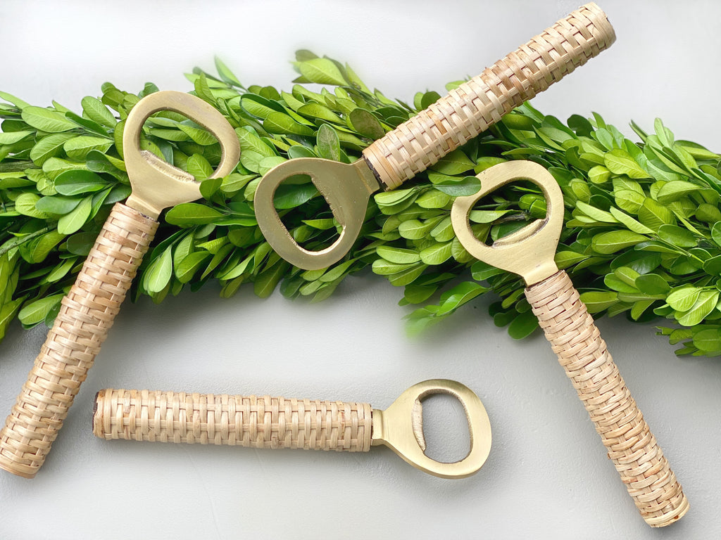Brass Bamboo Bottle Opener