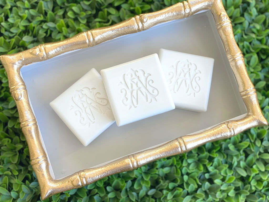 Square Bar Soap Monogrammed