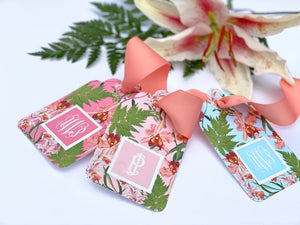 Vintage Lily Gift Tags, Set of 20
