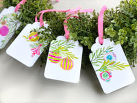 Vintage Ornament Gift Tags, Set of 10