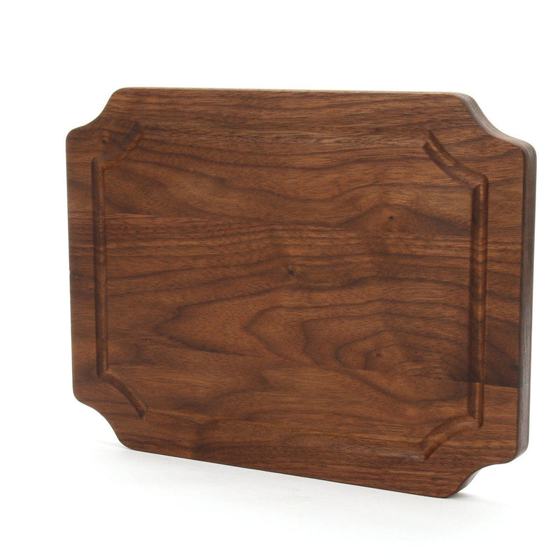 Scalloped Wood Cutting Board