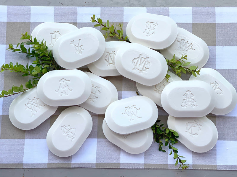 Oval Bar Soap Monogrammed