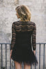 Raw Romance in black Dress