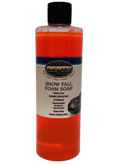 Snow Fall Foam Soap