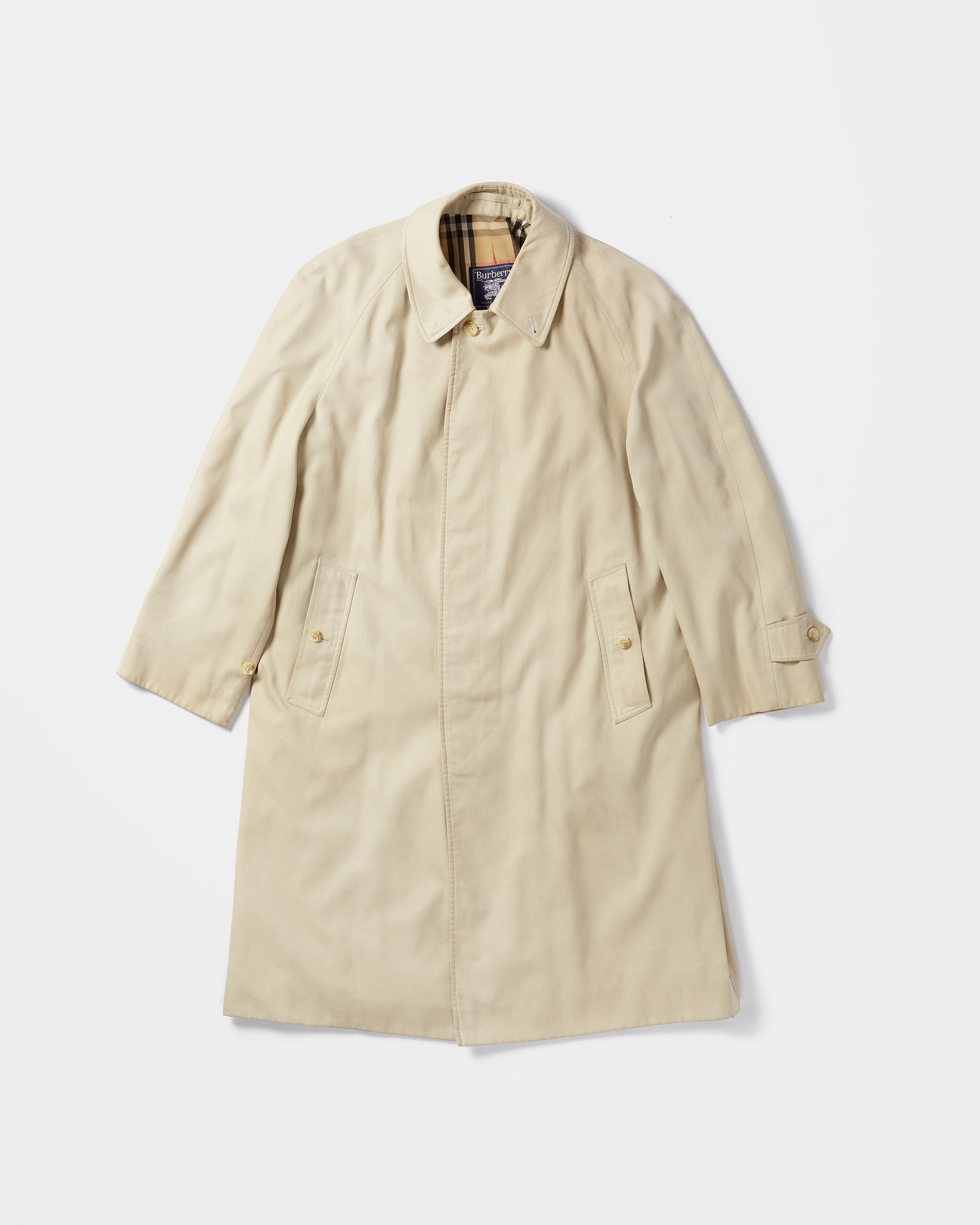 Burberry Balmacaan Coat
