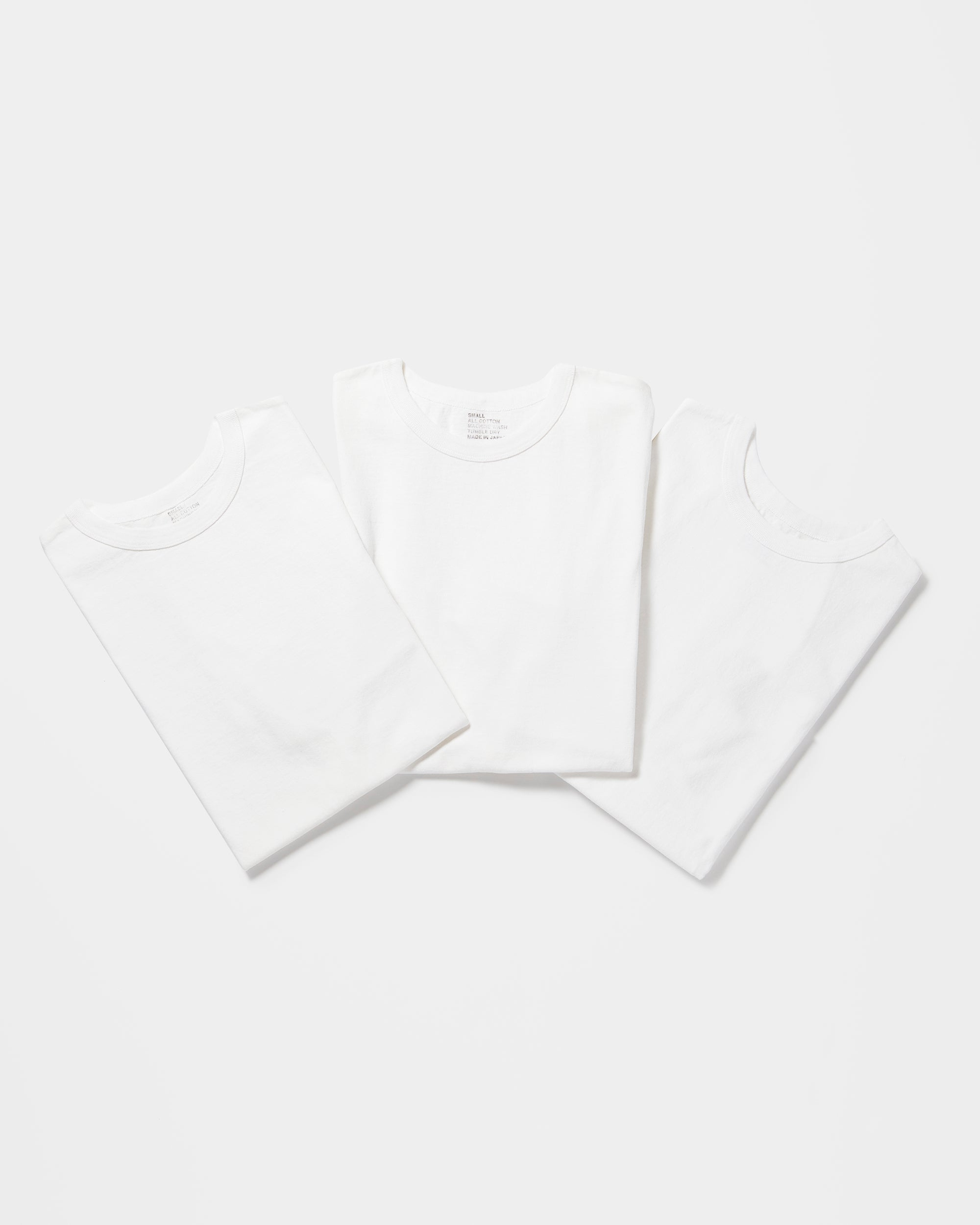3-Pack Heavyweight T-shirts White (You Save 10%)
