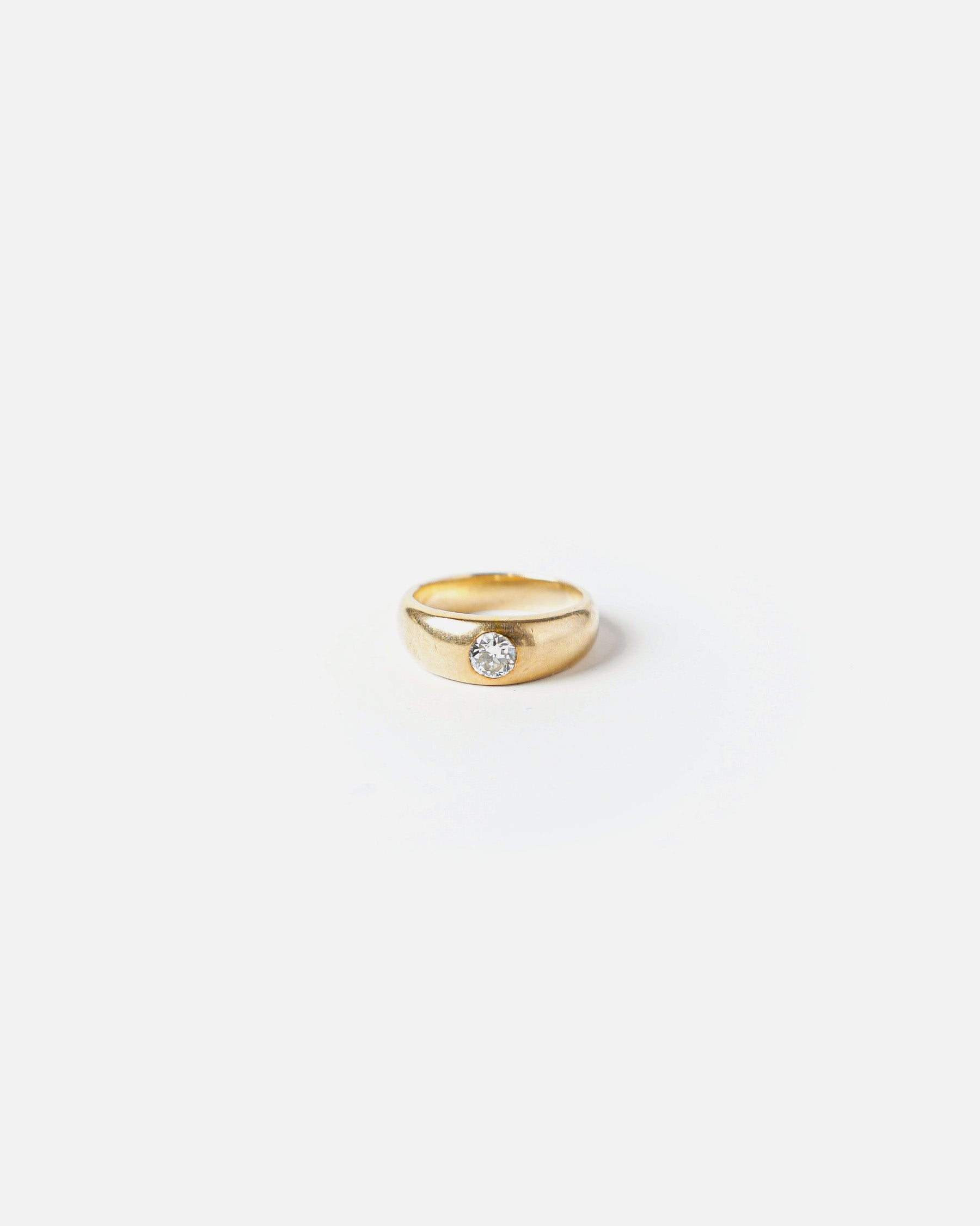 14K Yellow Gold W/ 40kt. Diamond Engagement Ring