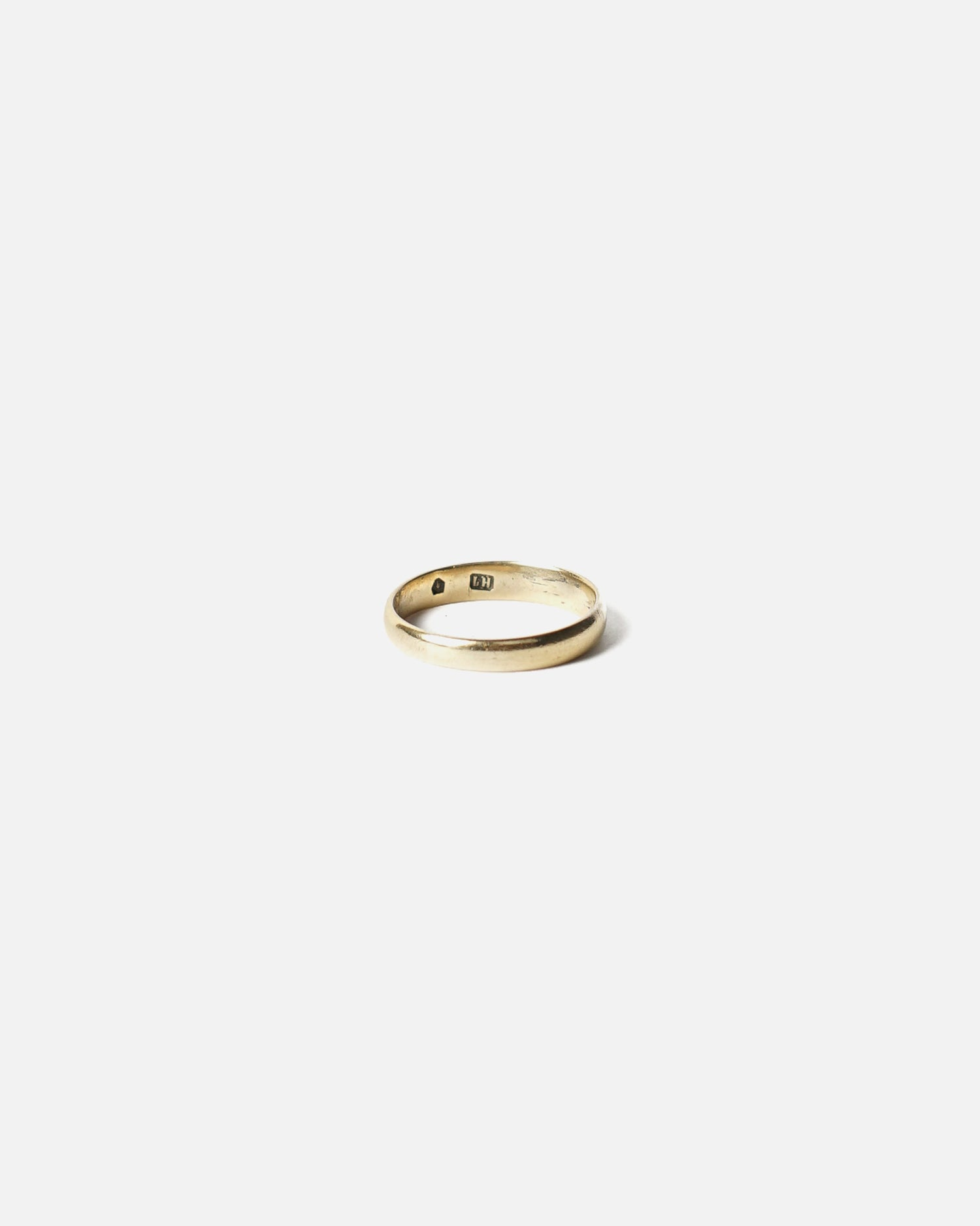 14K Gold Band Ring