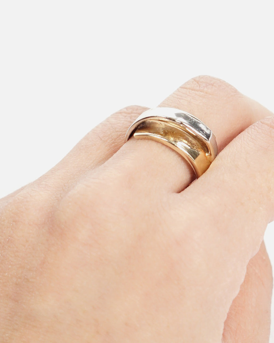 14k Gold Two Tone Ring