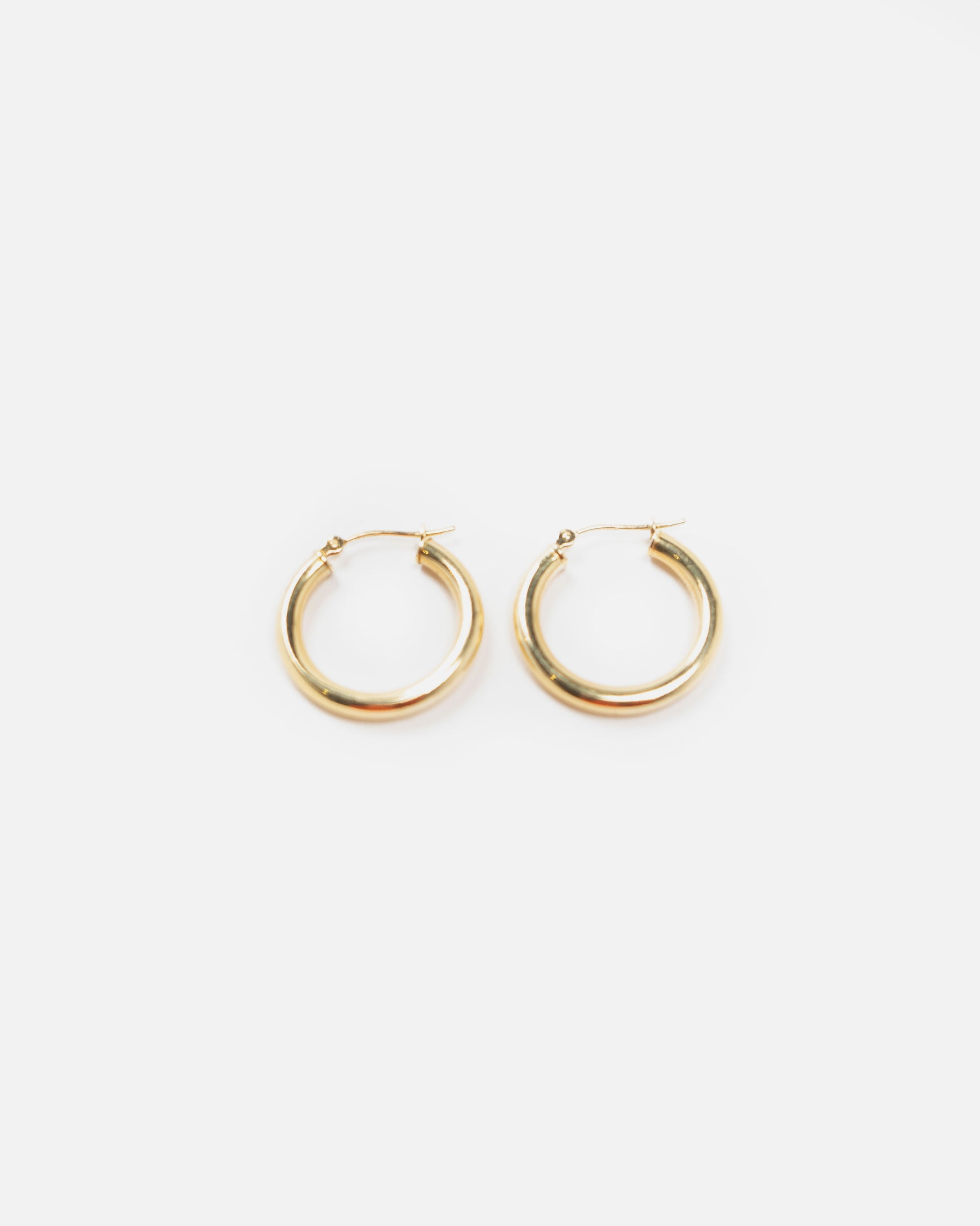 Essential 14K Hoops