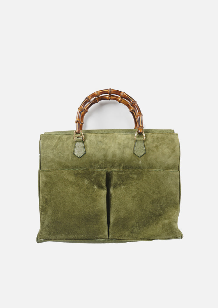 Bamboo Suede Tote