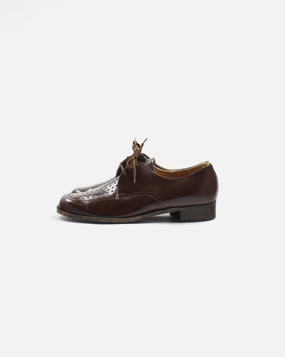 Flat Toe Leather Dress Shoes