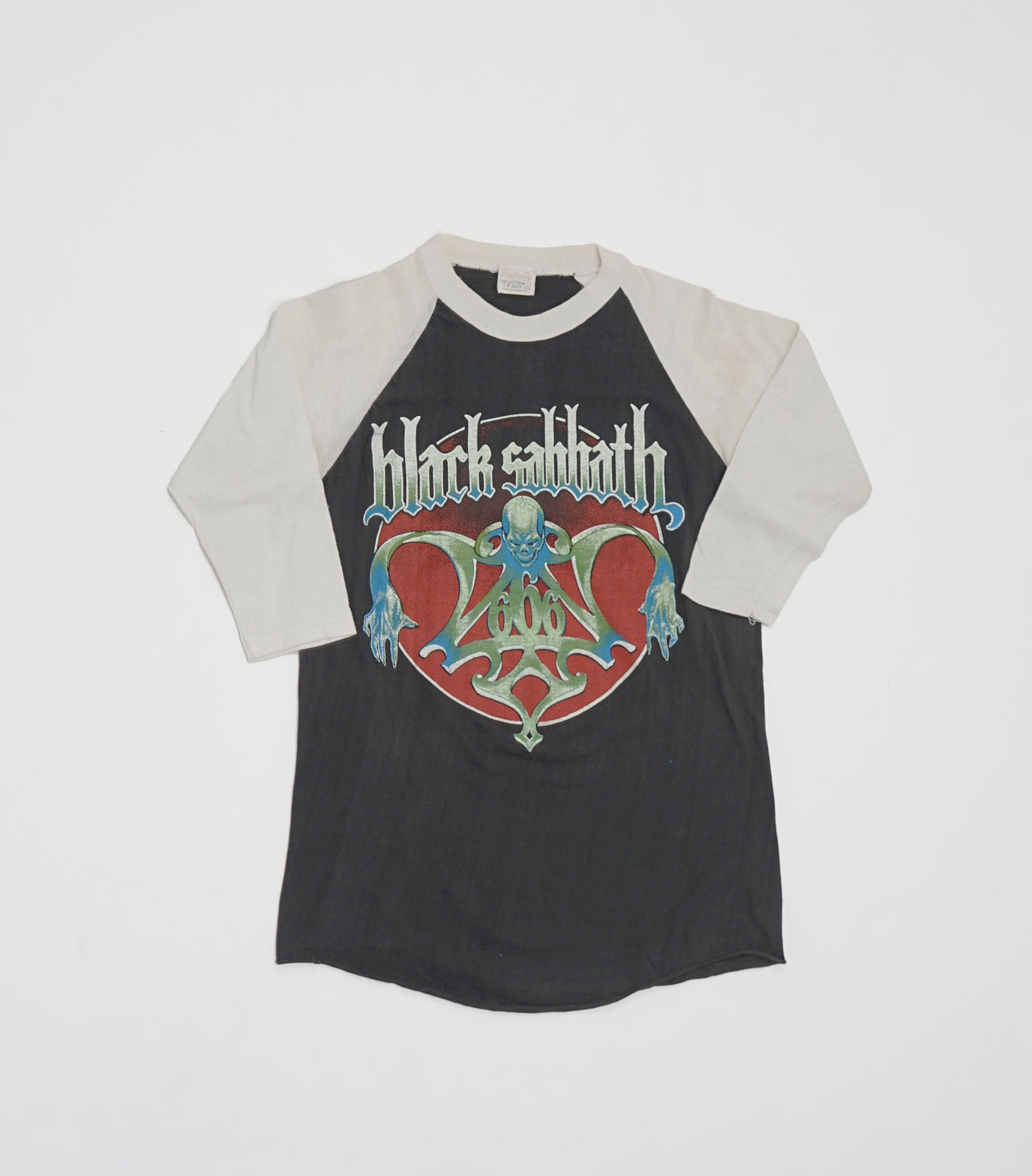 Black Sabbath Baseball Tee