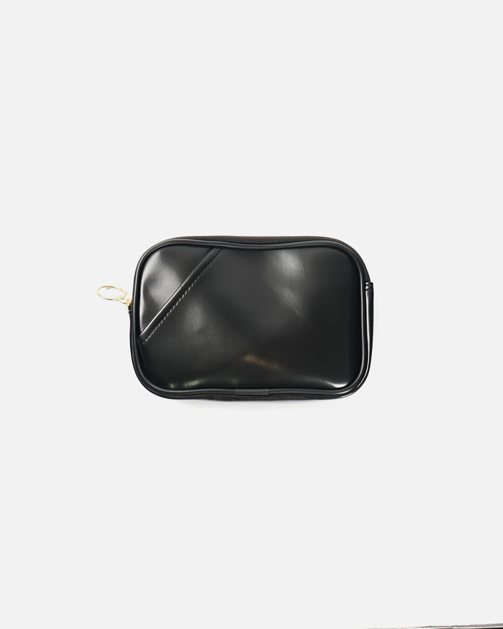 Black Zip Up Pouch