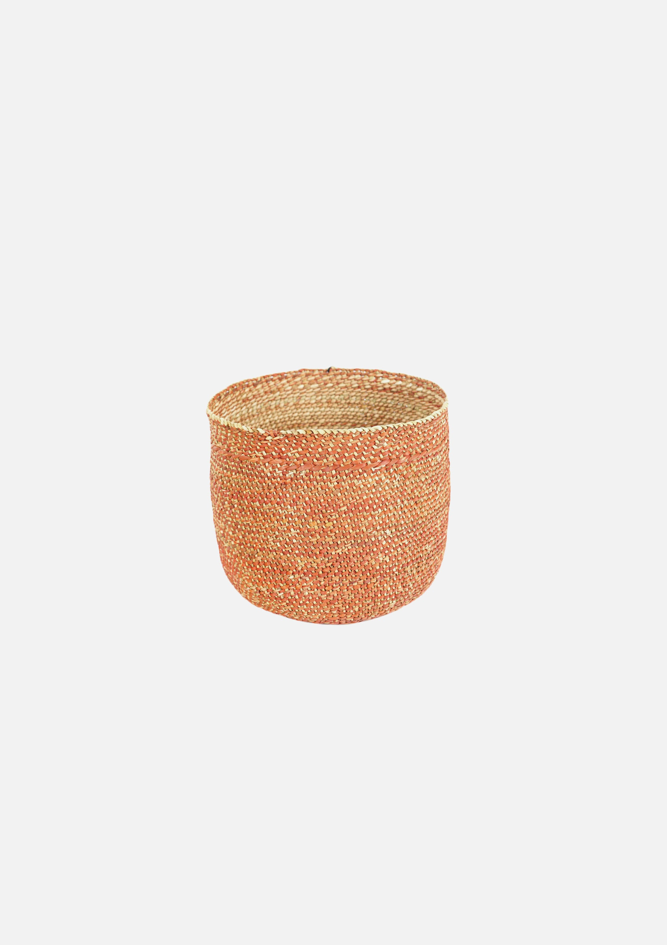 Iringa Baskets Solid Rust