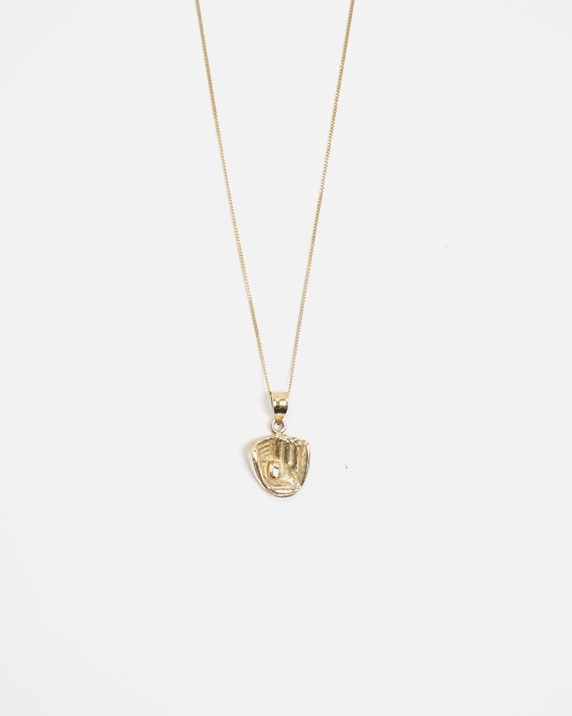 14k Gold Grove Charm Necklace