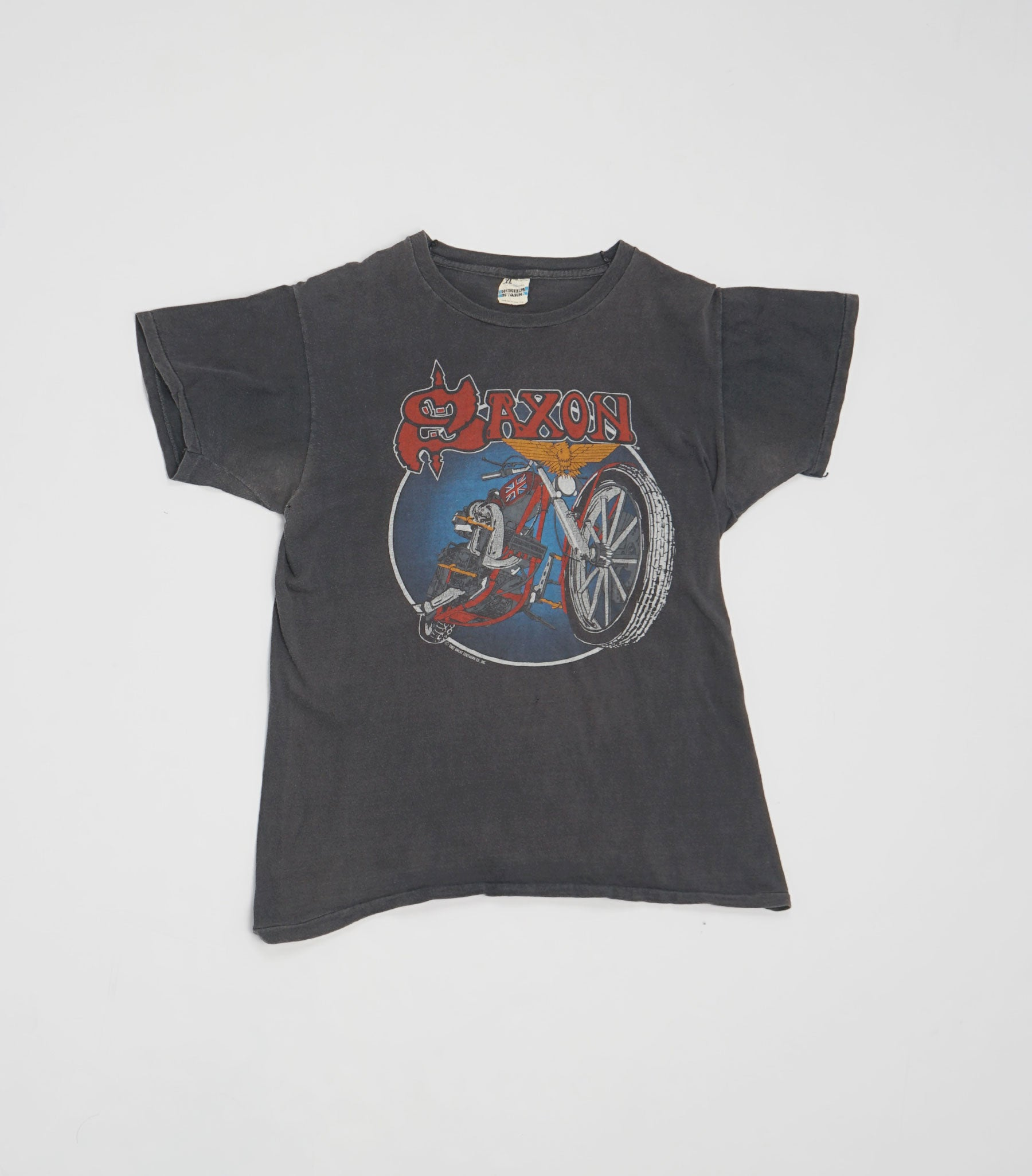 1982 Denim and Leather USA Tour Tee