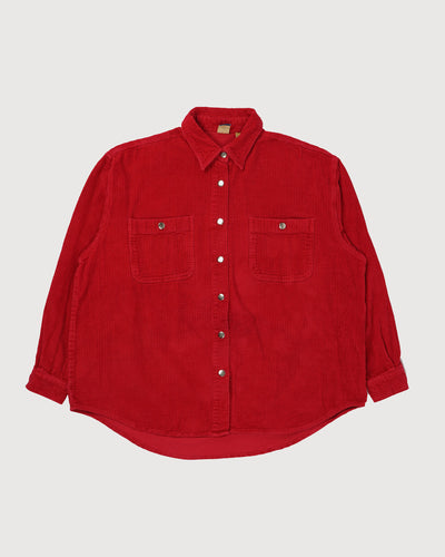 Wide Corduroy Shirt