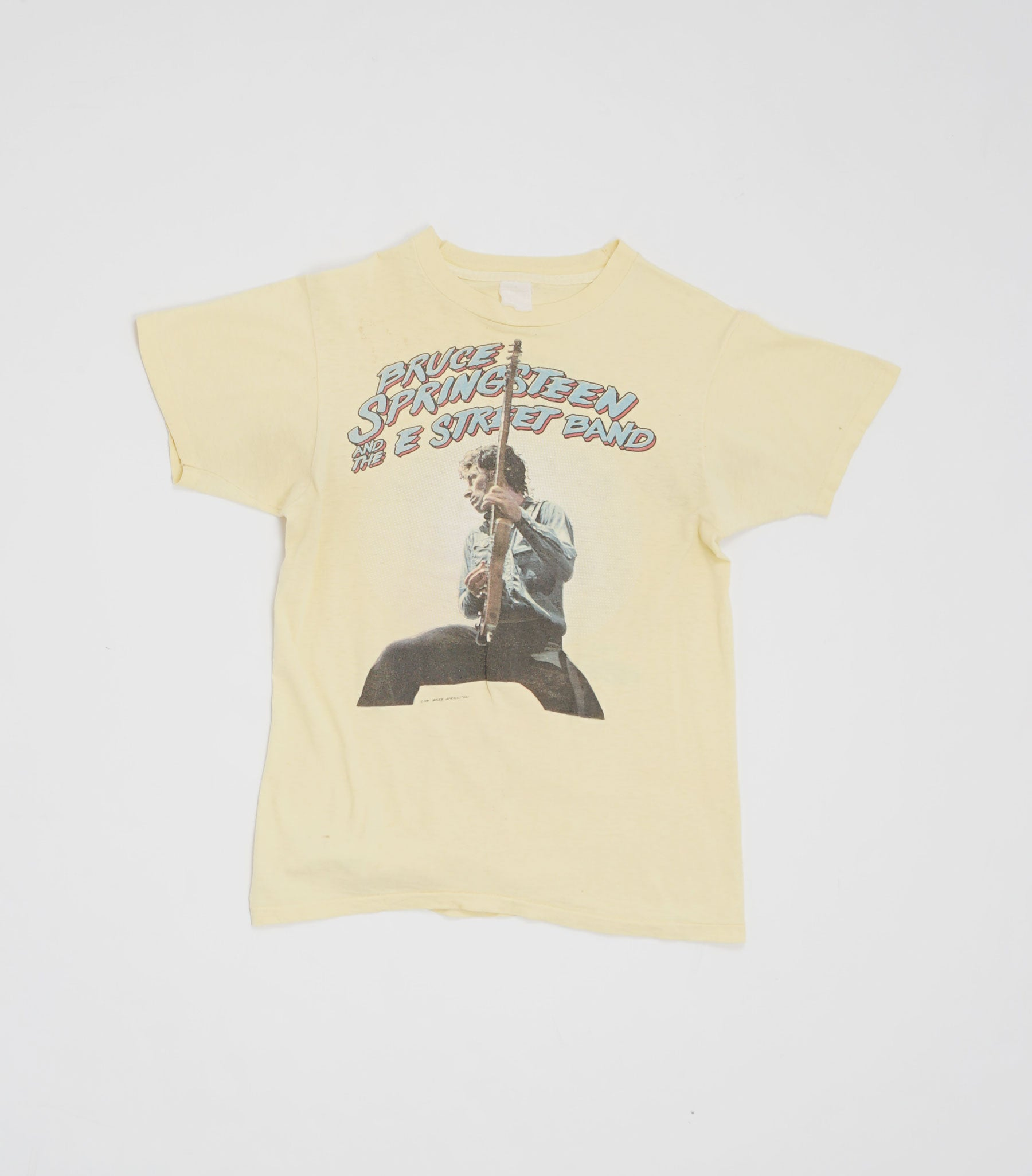 1981 Bruce Springsteen The Meadowlands Arena Tee