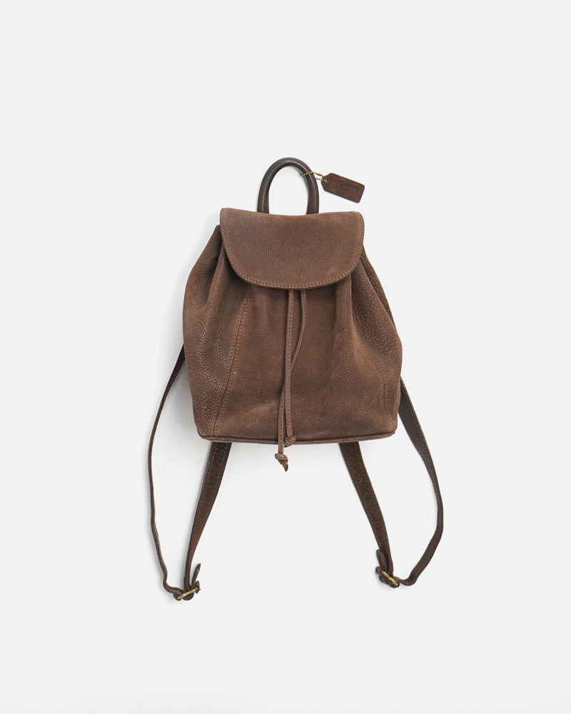Cowhide Leather Backpack