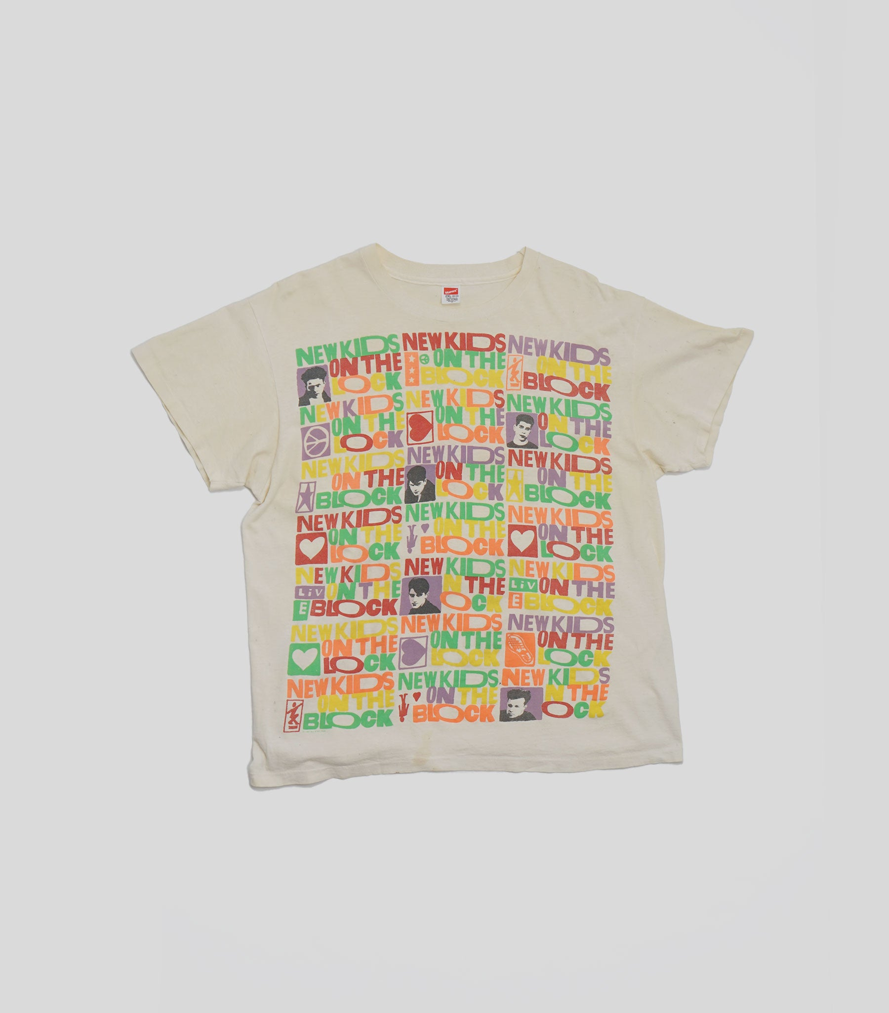 1990 New Kids On The Block Tee