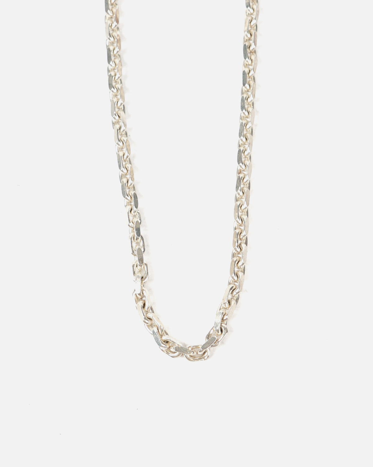 Silver Linked Chain Necklace