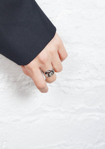 <strong>VINTAGE</strong>  Hermes</br>Deux Anneaux Ring