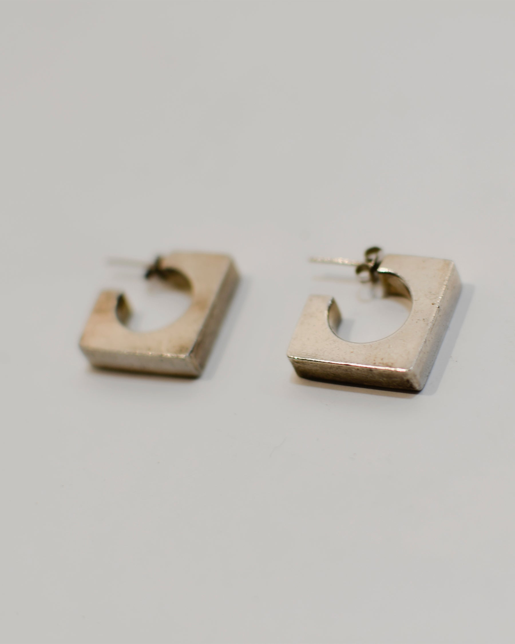Pointed Square Earrings