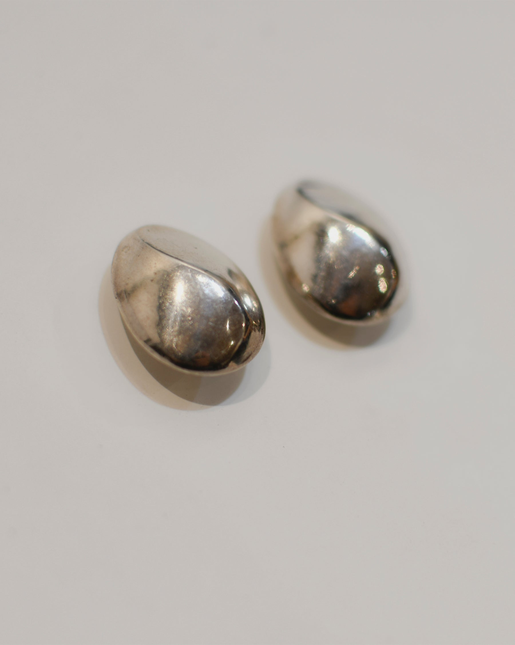 Stone Clip-on Earrings