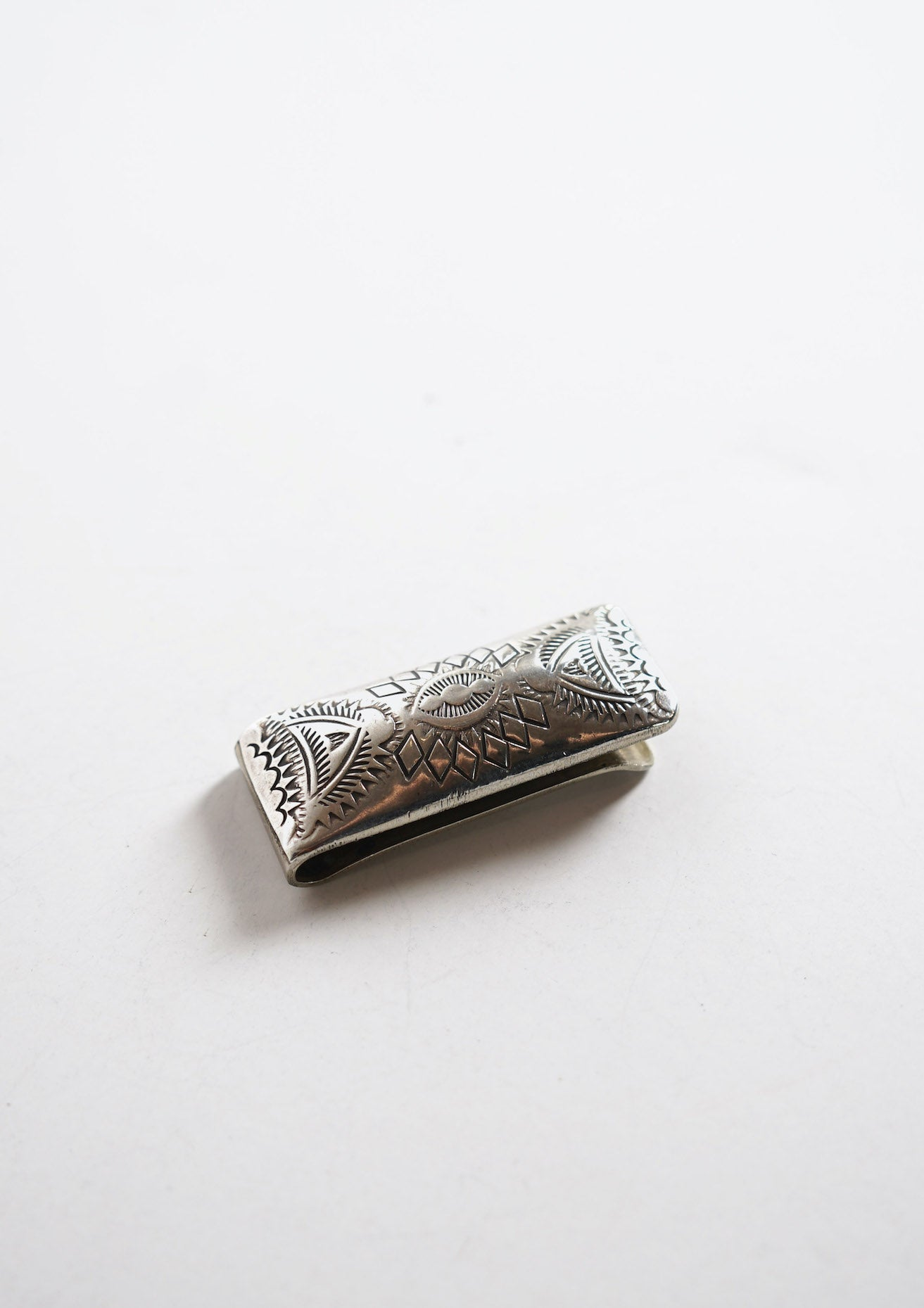 Navajo Sterling Money Clip