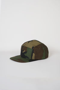 5-Panel Cap Made in USA / Camo