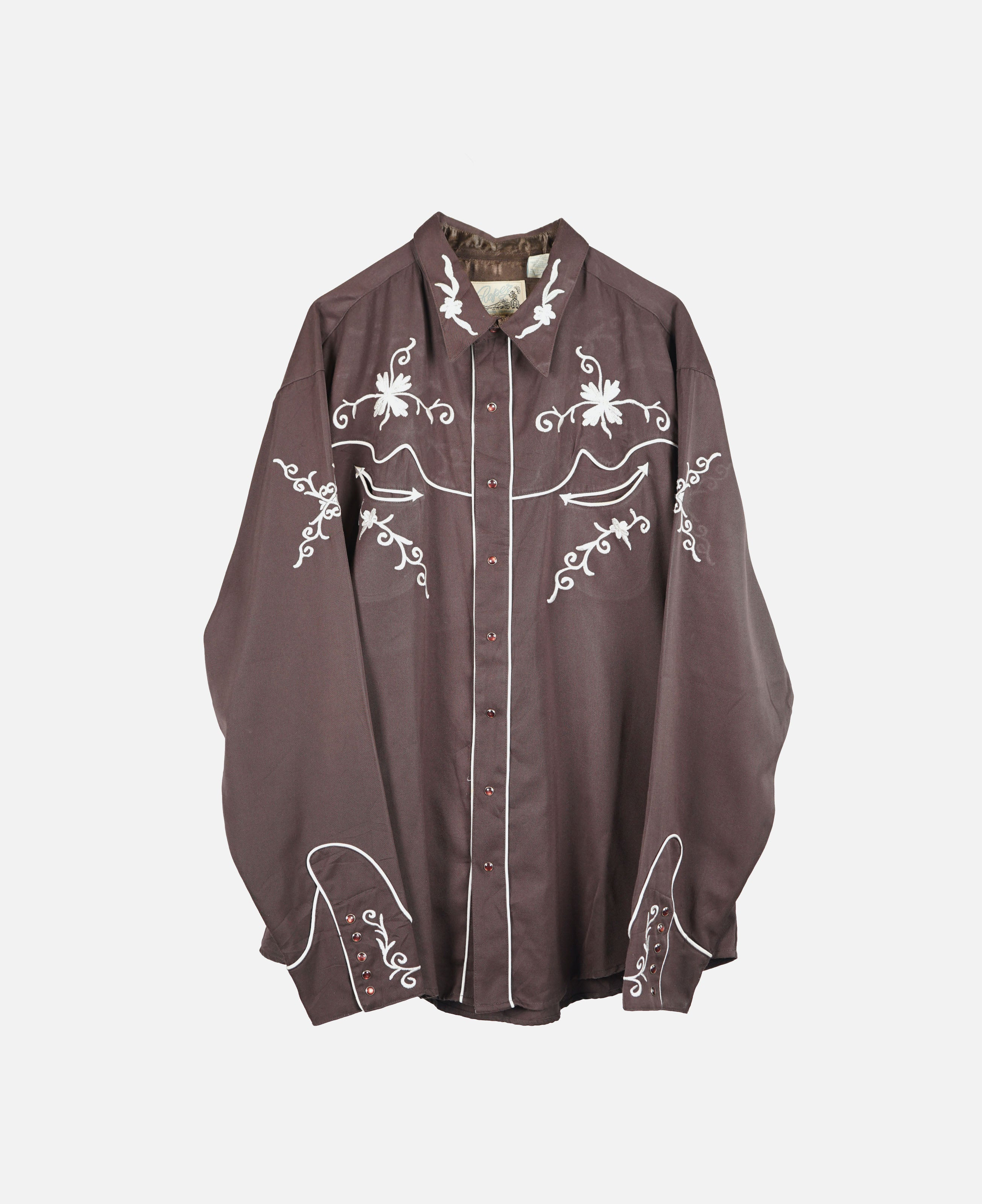 Western Shirt W/Embroidery